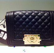 Fashion Bag n°5 nera  solo #rigorosamente °LowCost da #MigliardiStore 14,82 euro