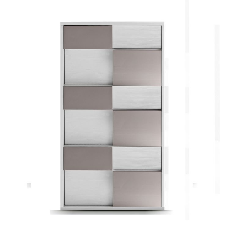 Contemporary tallboy with 6 drawers, L 63.4 - D 51.5 - H 111.7 cm at My Italian Living Ltd