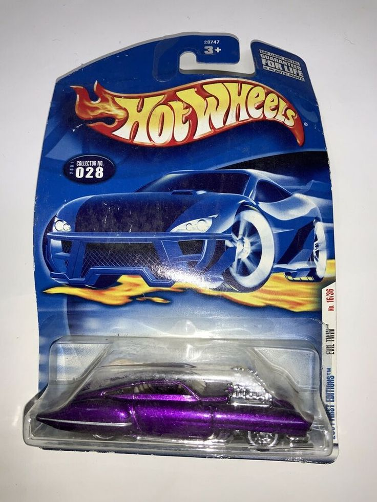 HOT WHEELS 2001 FIRST EDITIONS EVIL TWIN 028 PURPLE