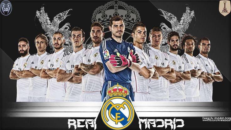 Real Madrid Cf Roster Wallpaper   Best Cool Wallpaper HD Download
