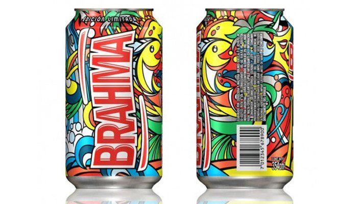 A Ambev lançou uma edição limitada de latas da cerveja Brahma na Argentina. O design gráfico, criado pela agênciaPierini Partners, de Buenos Aires, mostra imagens vibrantes e coloridas.Via