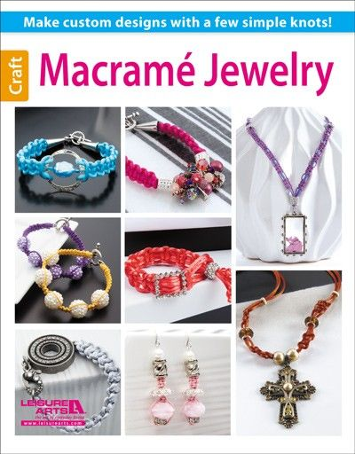 66 best books on jewelry macrame beads wire metal images on leisure arts macrame jewelry ebook httpleisurearts fandeluxe Images