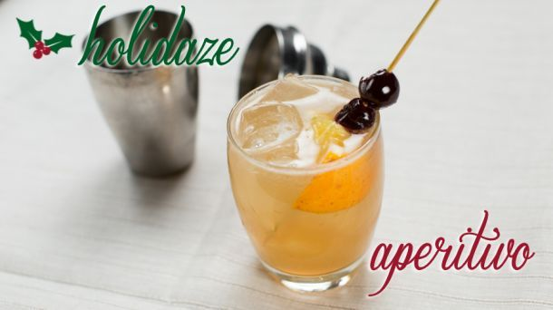 This may be my new Christmas Cocktail: Scotch Sour - Dennis Mullally, Otto Enoteca Pizzeria