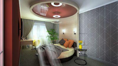 Sergey Batarchuk: Дизайн интерьера спальниby NANADESIGN г. Сургут