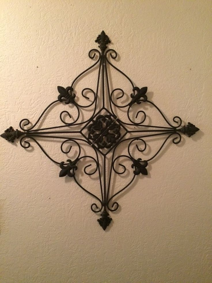Wrought iron wall decor for outside : Best images about wall decor on wrought