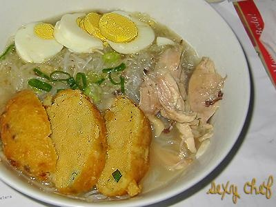 Soto Banjar from Banjarmasin, South Kalimantan