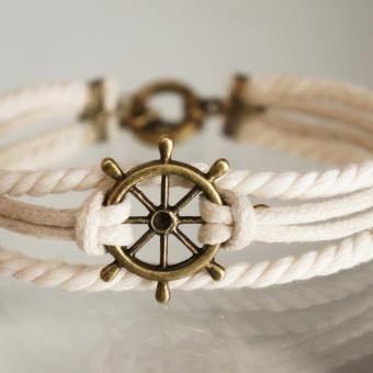 Sailor Girl bracelet  <3  www.DECOWONDERS.com