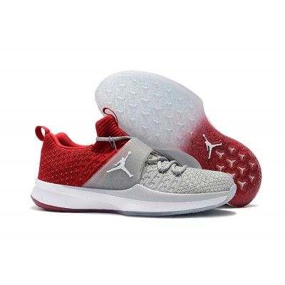 buy popular 557f7 01753 Buy Air Jordan Trainer 2 Flyknit Basketball Shoes Cool Grey Red