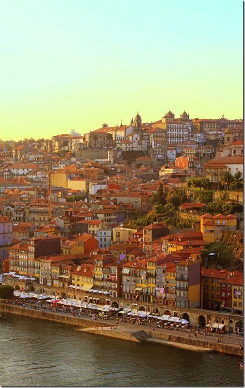 Ribeira, Porto, Douro River, Portugal