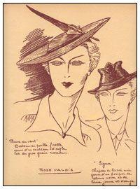 Шляпная графика 10-20х годов 20 века