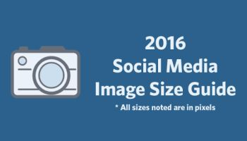 Get Your Dimensions Right! The 2016 Social Media Image Size Guide