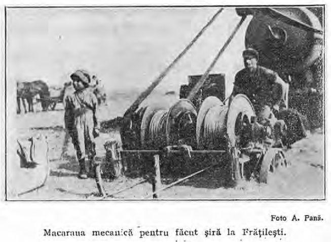 1910 Macaraua mecanică de făcut şire - Comuna Bordei Verde, Brăila - Wikipedia