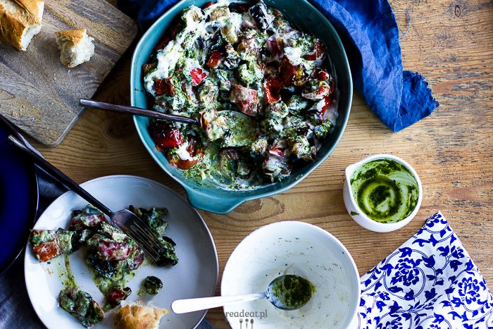 Vegetables with herb oil and yoghurt :: readeat.pl
