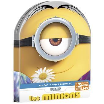 Les Minions Combo DVD + Blu-ray + UV - Boîtier métal