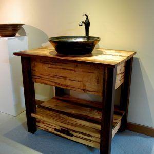 Rustic Bath Vanity Sink