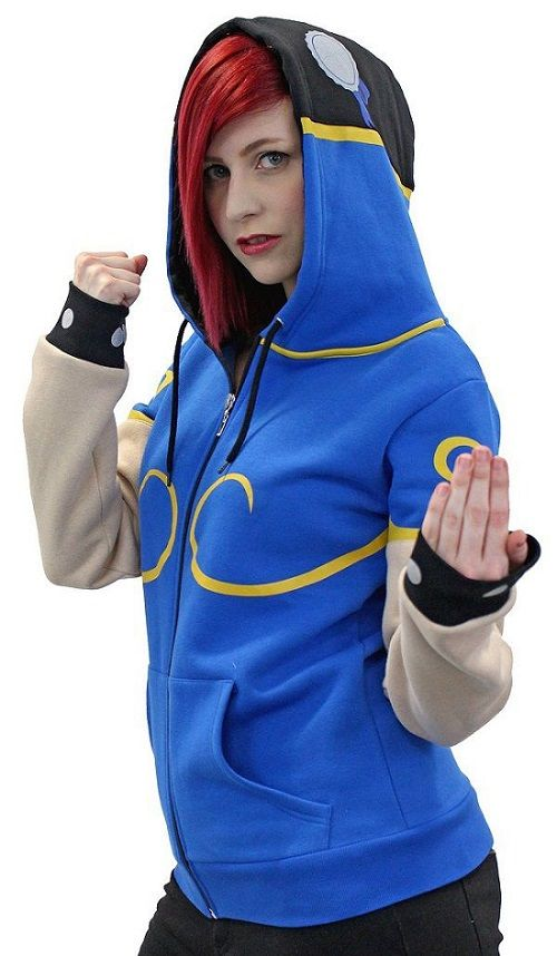 Street Fighter Chun-Li Hoodie