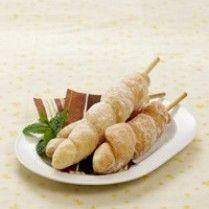 SATE DONAT SINGKONG http://www.sajiansedap.com/recipe/detail/4023/sate-donat-singkong