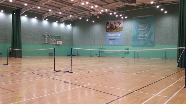 New LED lighting is a winner at Medway Park sports hall