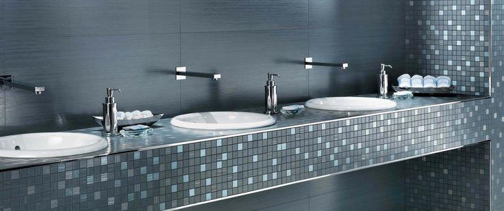 17 migliori idee su bagno con mosaico su pinterest bagno marocchino docce e bagno - Posa piastrelle mosaico ...