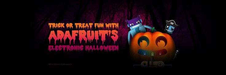 Cool crisp air can only mean one thing, it's time for #ElectronicHalloween 2017!  ||  It's finally here – welcome to Electronic Halloween 2017! We hope you join us on the Adafruit Blog, Twitter and Instagram where we will be sharing #ElectronicHalloween inspiration from … https://blog.adafruit.com/2017/10/02/cool-crisp-air-can-only-mean-one-thing-its-time-for-electrichalloween-2017/?utm_campaign=crowdfire&utm_content=crowdfire&utm_medium=social&utm_source=pinterest