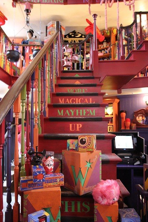 The overall burst of color right as you walk in. | 19 Magical Finds At The Weasleys' Joke Shop In Universal's Diagon Alley
