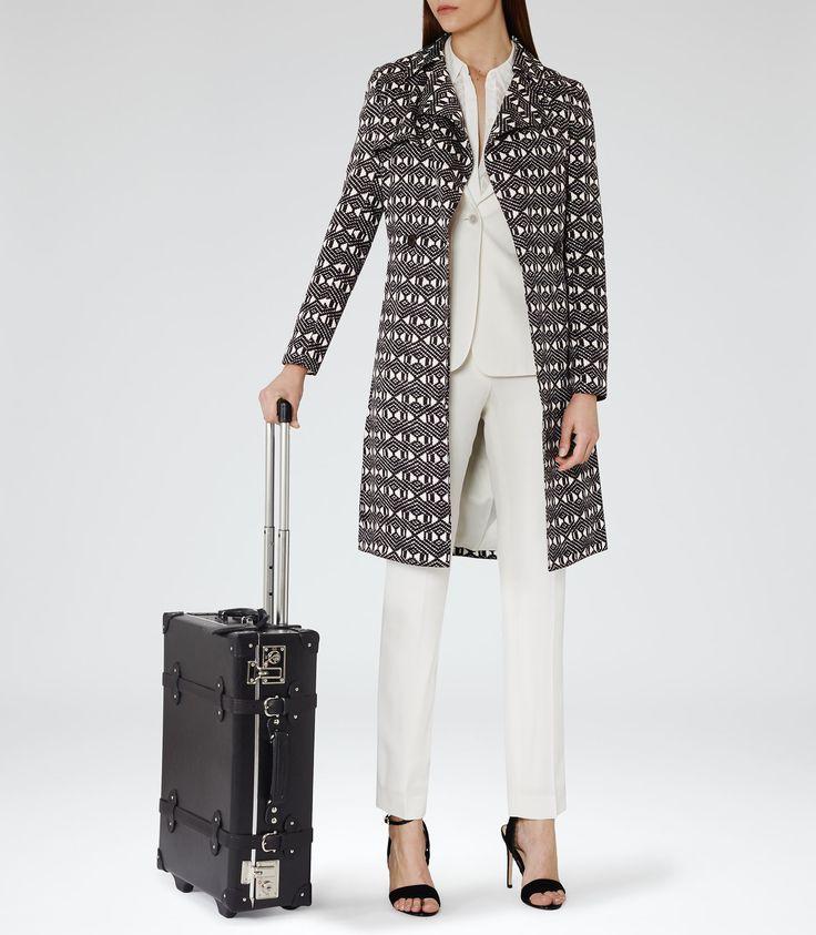 Reiss Wayfarer Black Wheeled Suitcase