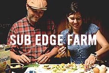 Rodger & Isabelle Phillips of Sub Edge Farm focus on organic vegetables, pasture-raised meats and one of the simplest ingredients out there—eggs. Triscuit supports them because of their dedication to simple ingredients. We believe that, just like us, they're made for more.