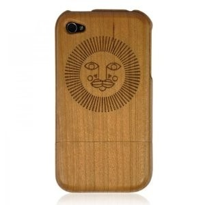 cherry wood iphone4/4s case-sun face: cell phones & accessoriesIphone4S 4 Cases Sun, Wood Iphone44, Face Colors, Casesun Face, Iphone44 Casesun, Cherries Wooden, Cases Sun Face, Wood Iphone4S 4, Colors Wood