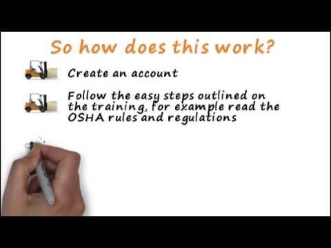 Online Forklift Training | OSHA Forklift License | Forklift Academy
