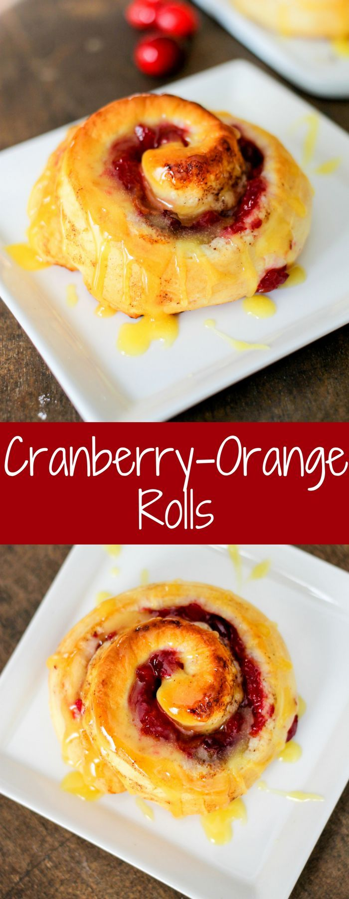 Bejeweled Cranberry-Orange Rolls are the perfect breakfast! Cranberry, pineapple, walnuts and ginger perfectly complement the orange cinnamon rolls! They were a category winner in the 48th Pillsbury Bake-off Contest as well! #MadeAtHome #PillsburyBakeOff #Sponsored @pillsbury