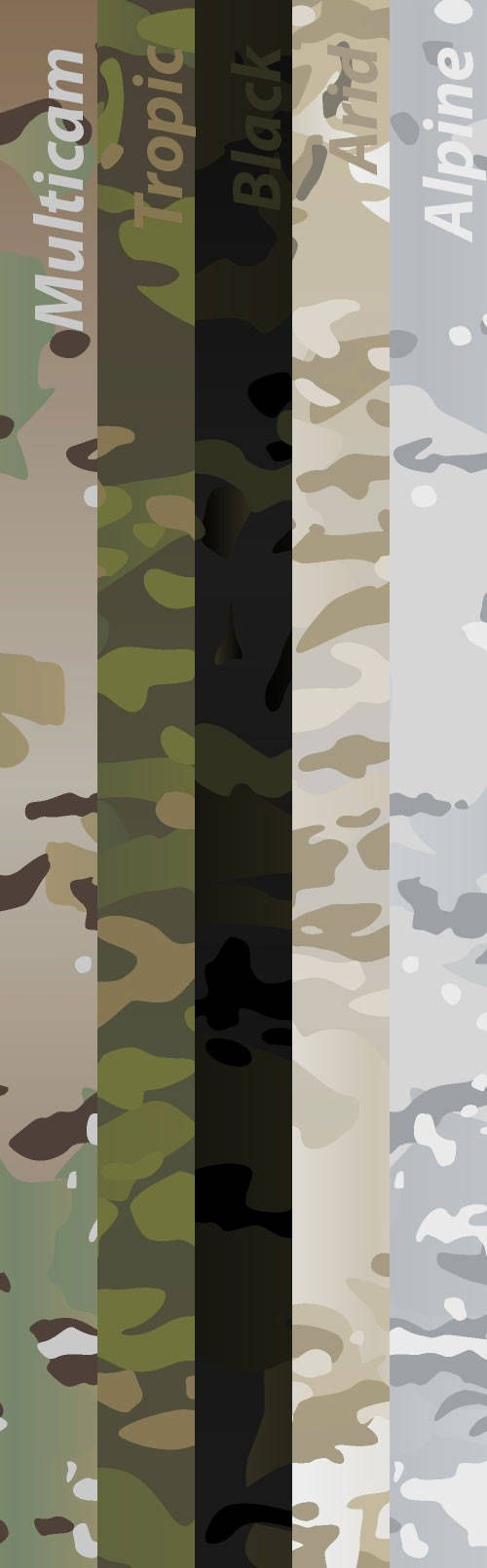 Original full-size Multicam (scorpion) camouflage pattern for print.  Copy of legendary camo pattern in vector ready-to-print format. You can zoom it for any size without quality lose.  Handly created in Photoshop and Illustrator and tested for vector errors.  File format: .eps (can opened with any graphics software), ~1 Mb. Bonus: converted picture in .png, 5980x2400 px, RGB, ~1,65 Mb.  You can use this pattern for personal reasons or small commercial reasons (up to 100 prints). If you want…