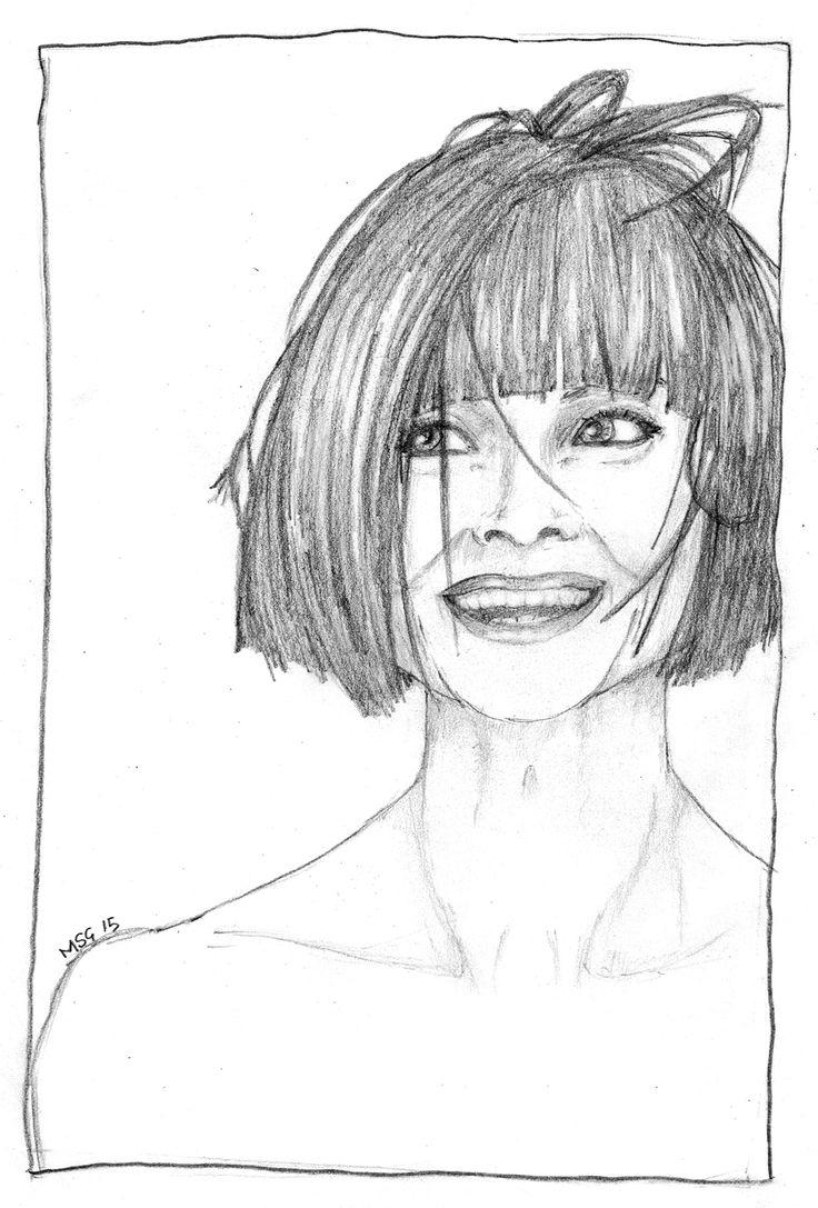 Essie Davis, a sketch by me