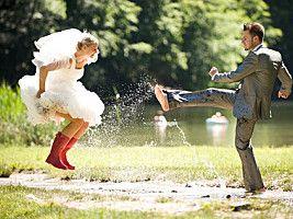 Robe de mariée : c'est quoi le Trash the Dress