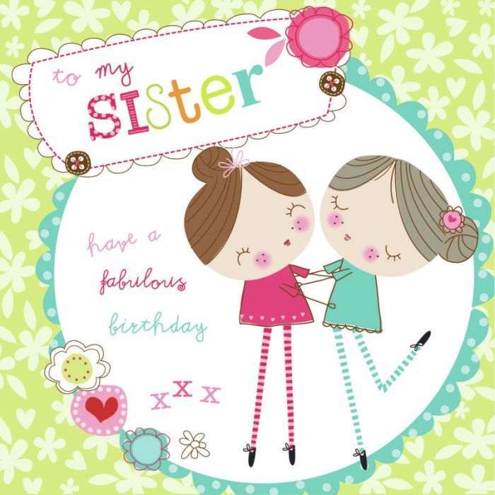 17 Best Sister Birthday Images On Pinterest