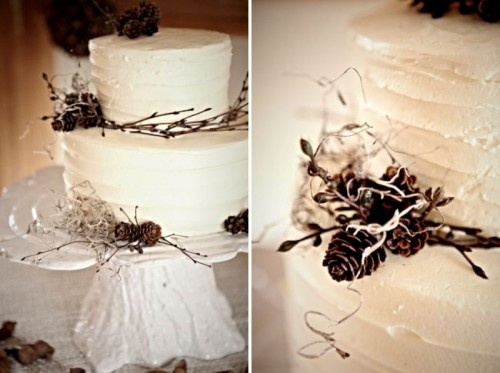 "Stunning ""Winter Wedding"" cake"