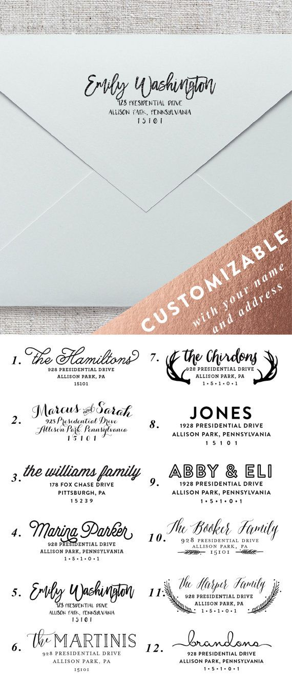 Best 25+ Return address labels ideas on Pinterest Personalized - address label