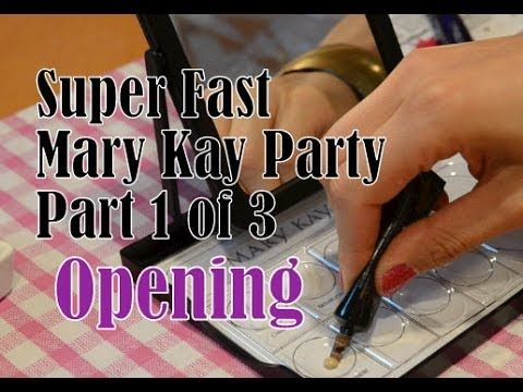 Mary Kay Party - Opening - Part 1 of 3