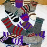 Boy's Wool Socks (Various colors and stripes)