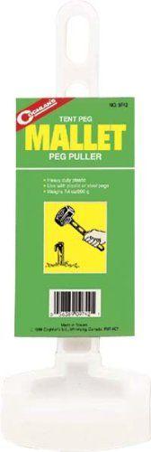 Coghlan's Tent Peg Mallet >> LEARN ADDITIONAL INFO @: http://www.best-outdoorgear.com/coghlans-tent-peg-mallet/