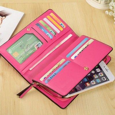 billeteras de cuero para mujer y bolsos