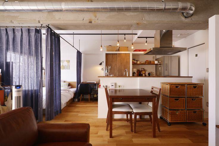リフォーム・リノベーションの事例|LDK|施工事例No.445 漆喰の壁に囲まれて暮らす、光と風あふれる家|スタイル工房