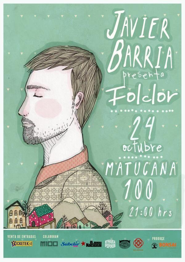 Javier Barría en vivo presentando su nuevo disco Folclor. #ProductoNacional