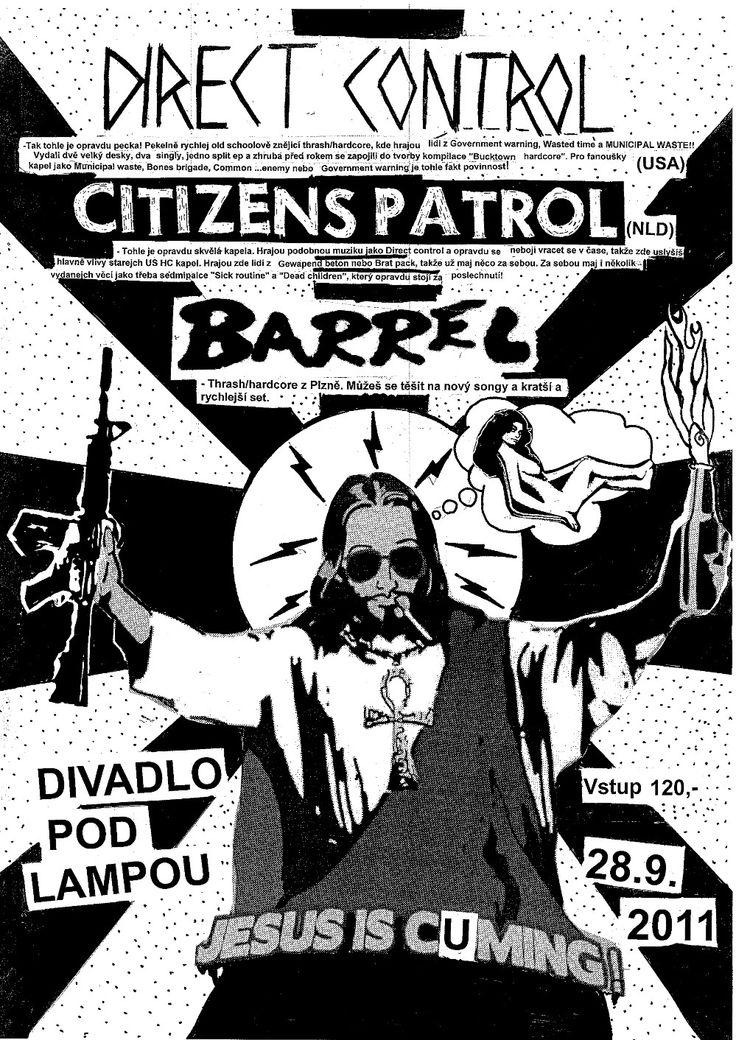 Direct Control (US), Citizens Patrol (NL), Barrel (CZ)