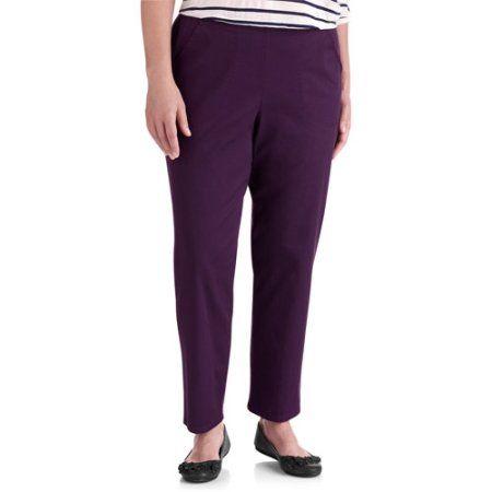 Just My Size Women's Plus-Size Petite Stretch Straight Leg Denim Pull On Jeans, Beige