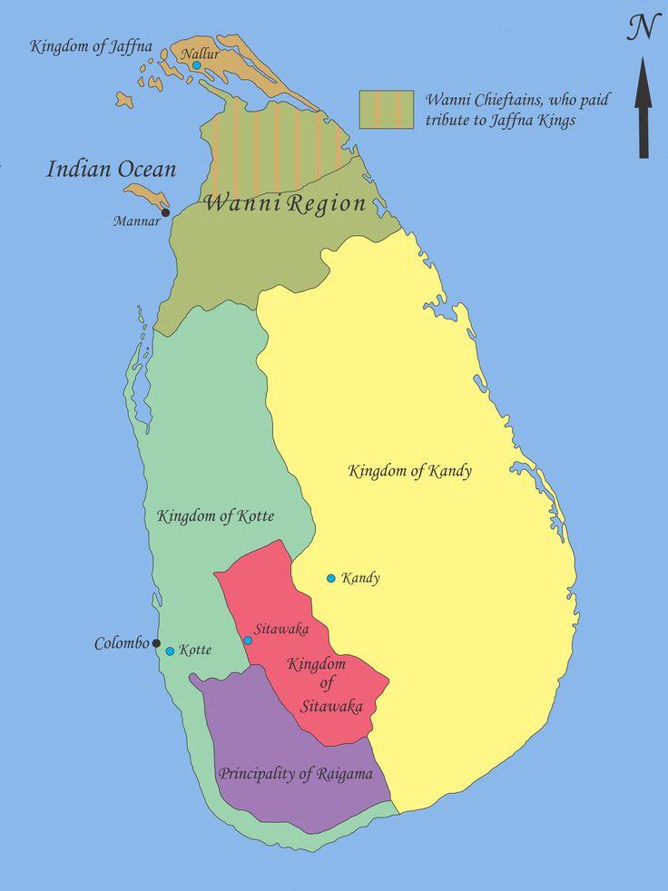 Sri Lanka in the 1520s