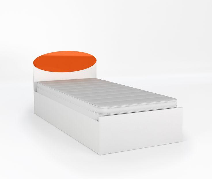 Łóżko 90 o wymiarach: 850x950x2038. powierzchnia spania to 90 x 200 cm, podnoszony stelaż na jedną stronę i schowek na pościel, stelaż z regulowaną twardością, do boków łóżka można zamontować ZASTAWKĘ, w ofercie posiadamy 4 rodzaje materacy.