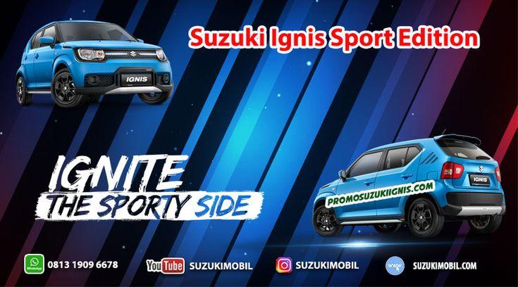 Suzuki Ignis SE Sport Edition spesifikasi, warna, harga, interior dan eksterior ignis sport edition. Promo suzuki ignis sport edition kredit dp murah dengan cicilan murah.Perbedaan Suzuki Ignis Sport Edition terlihat perubahan Eksterior dan interior lebih sporty.