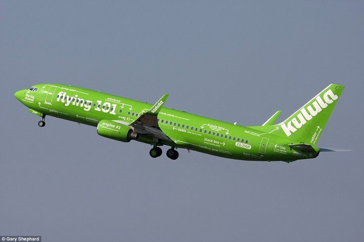 South African budget carrier Kulula Airlines came up with this clever livery that points out various components of the aircraft