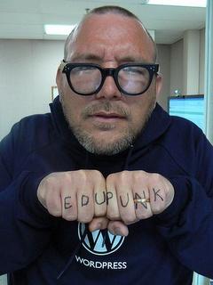 EDUPUNK - Jim Groom! http://en.wikipedia.org/wiki/File:Edupunk.jpg