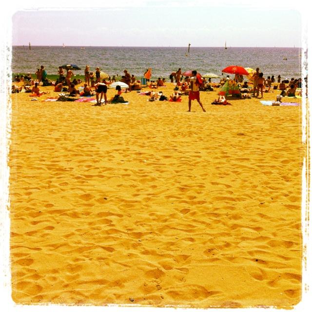 Playa del somorrostro: Del Somorrostro, Beach